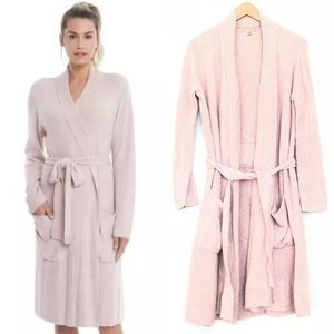 Barefoot Dreams Cozychic Lite Ribbed Robe Size S/M